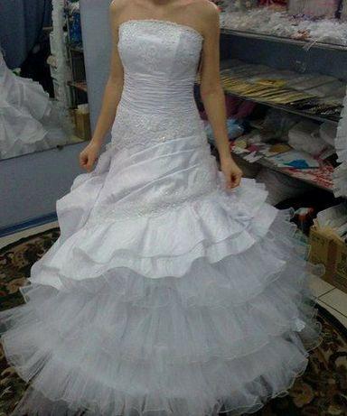 Свадебное милое платье 44-48!