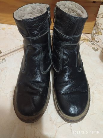 Шкіряне взуття осінь зима