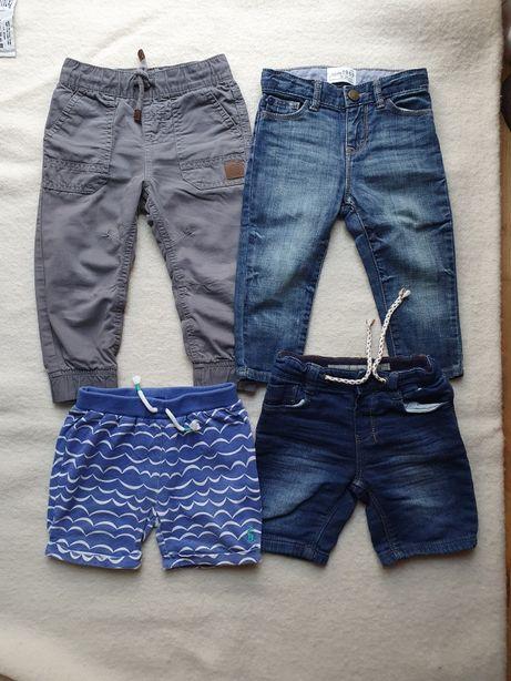 Spodnie dziecięce 92 jeansy