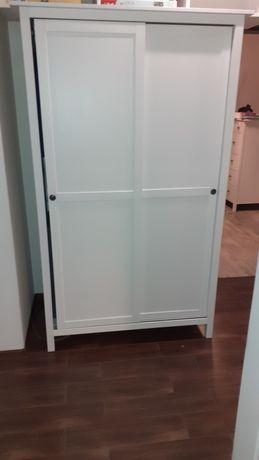 szafa biała ikea hemnes stan idealny używana 2 m-ce
