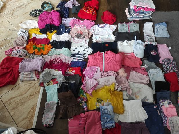 Rezerwacja do niedzieli. Ubrania dla dziewczynki 86-104