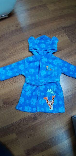 Szlafrok dla chłopca 3-6 miesięcy Disney Baby