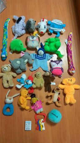 Лот игрушки мягкие