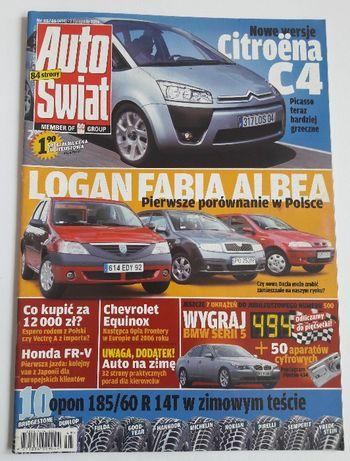Auto Świat Nr 494 - magazyn motoryzacyjny