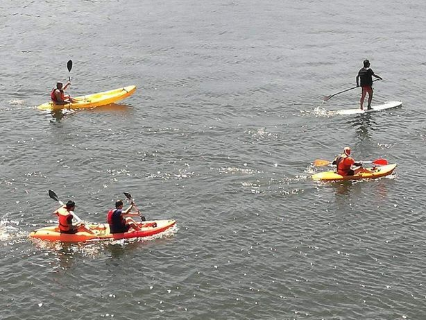 Aulas de paddle e Kayak particulares no rio Douro Porto