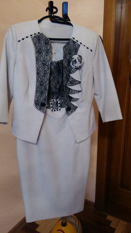 Комплект женский платье и пиджак Новый