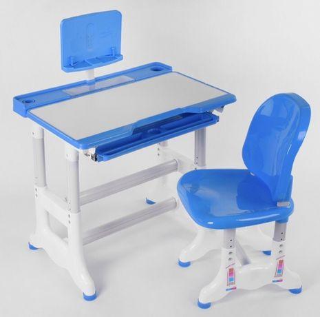 Парта со стульчиком регулируется высота и столешница