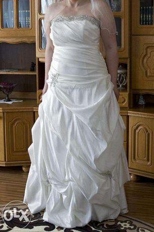 Suknia ślubna CAROLINE - rozm 42-44 + GRATISY