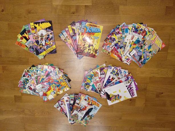 X-men cala kolekcja na roczniki 92,93,94,95,96,97