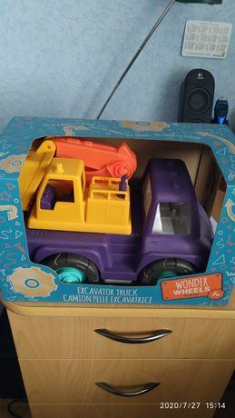 Ексклюзивная игрушка для ребенка баттатомобиль экскаватор