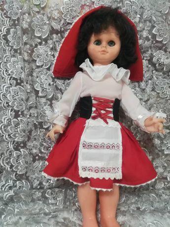 Костюм для куклы красная шапочка