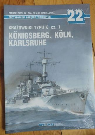 Krążowniki typu K cz. 1 i 2 Konigsberg, Koln, Karlsruhe