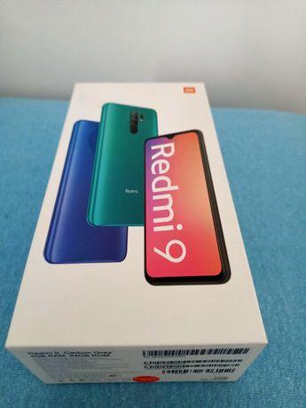 Telefon Redmi 9 Carbon Grey nieużywany fabrycznie nowy.