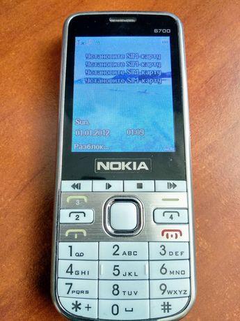 Мобільний телефон Nokia 6700 + TV! (Білий) на 4 сім карти