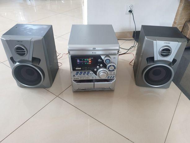 Wieża JVC 3CD 2deck rds Active Bass ex