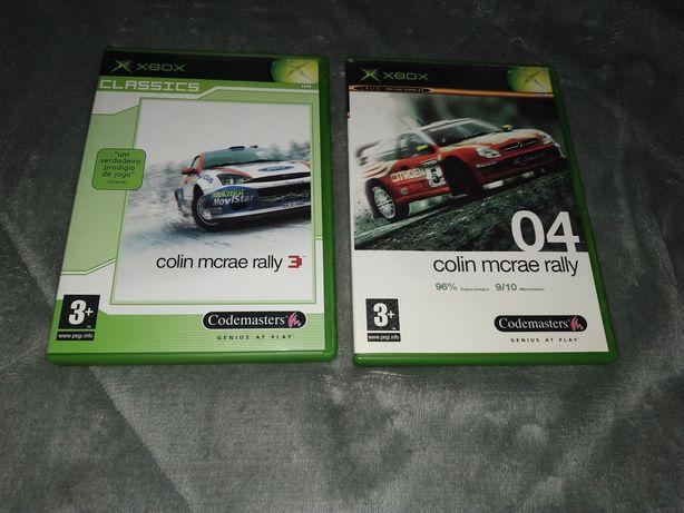 XBOX Original Clássic Clássica - Jogo Colin McRae Rally 04 / 03
