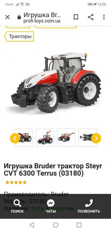 Трактор Bruder Германия