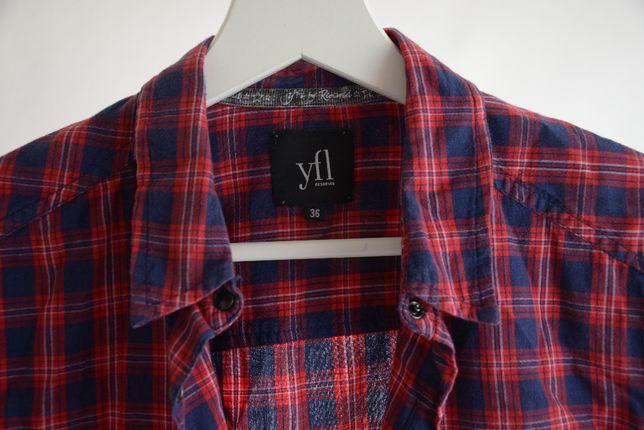 Koszula w kratę Reserved YFL rozm.36 (S)