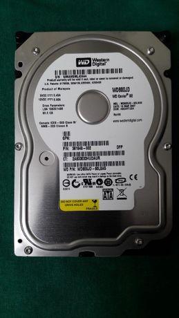 """Жесткий диск WD wd800jd 3.5"""" (80gb\7200rpm\2m) sata"""