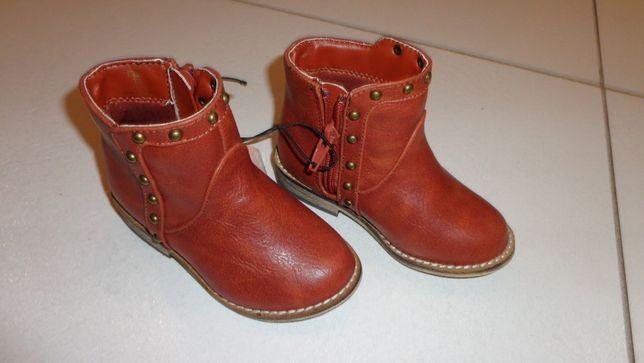 mothercare buty skóra nowe kowbojki