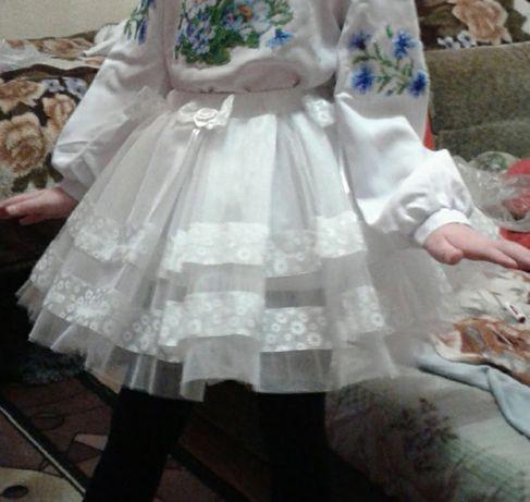 Нарядная юбка 5-7 лет