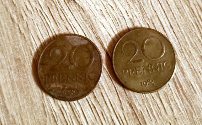 Sprzedam monety 20 pfenning