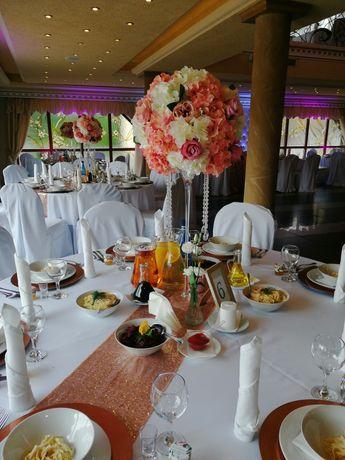 Zestaw ślubnych dekoracji