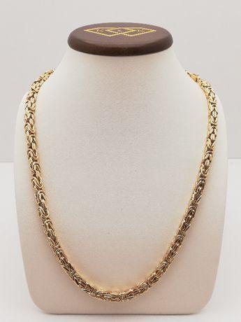 Nowy Złoty łańcuszek Król splot królewski złoto 585 Sklep K&K