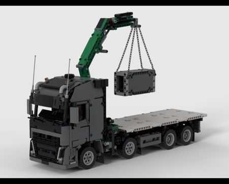 Transporte Camião Grua