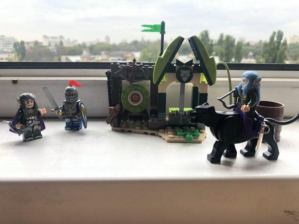 Конструктор Лего замок эльфы рыцари lego castle