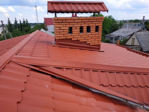 Перекриття дахів. Нові дахи. Мансардні дахи. Доставка всіх матеріалів.