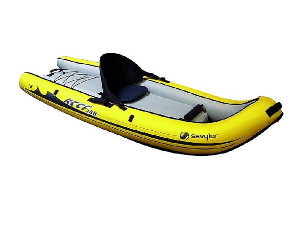 Лодка Байдарка Каяк Sevylor Inflatable Kayak Reef 240