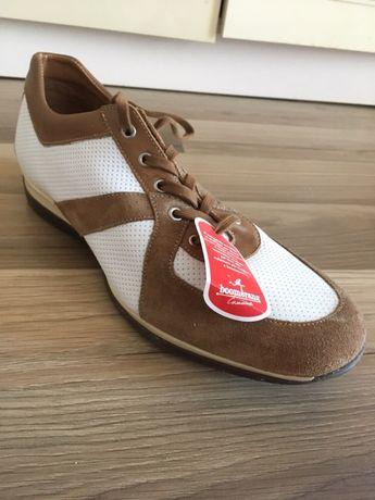 Кожаные кроссовки/туфли Boomerang