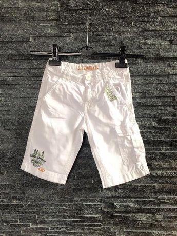 r. 116 cm / in EXTENSO krótkie spodenki spodnie 3/4 dla chłopca