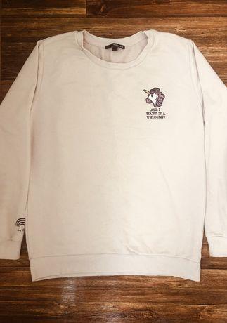 Толстовка реглан свитер кофта единорог девушке 44-46 школа