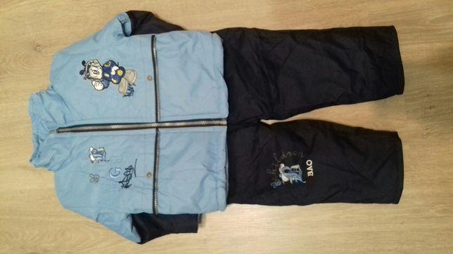 Демисезонный комбинезон,на 1.5-2 года,куртка и штаны-комбинезон