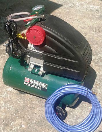Compressor Parkside PKO 270 A1 + acessório