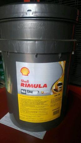 Olej Shell Rimula R6 LME 5W30 20 Litrów
