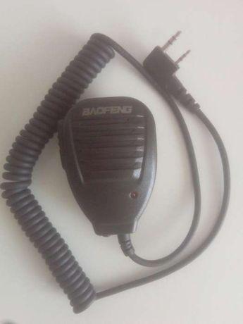 Micro e comunicador para rádio