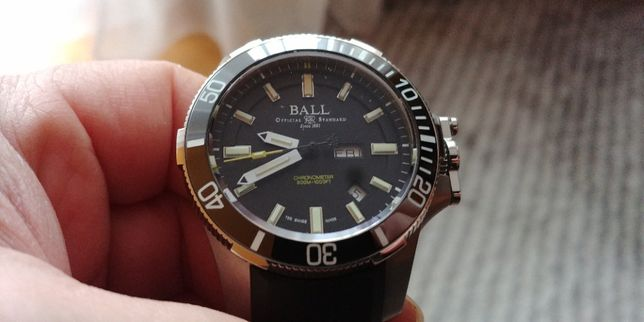 Nowy zegarek BALL Engineer Hydrocarbon II Submarine Warfare Titanium
