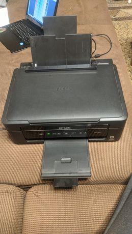Принтер сканер МФУ Epson xp 207 цветной, картриджи с доливкой