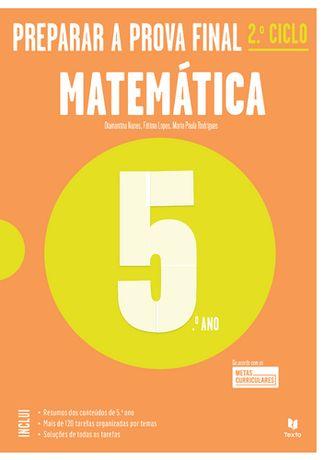 Matemática 5.º ano - Preparar a prova final   Novo