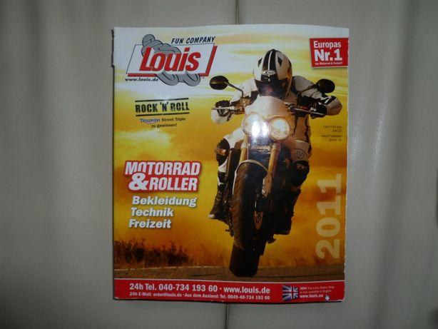 Album-katalog motocyklowy LOUIS edycja 2011r