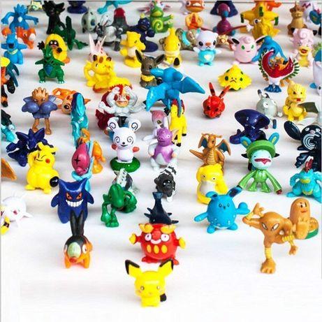 Zestaw 24szt figurki figurka Pokemon GO Pikachu