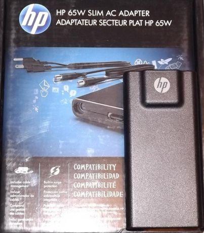 Блок питания • HP Slim 65W • 4.5 mm • 7.4 mm • 4.8 mm + USB