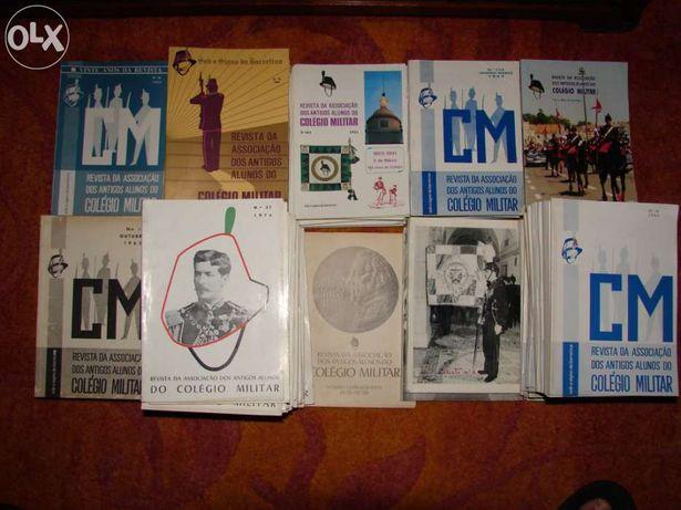 Coleção COMPLETA revistas antigos alunos colégio militar