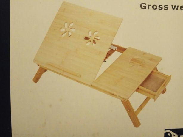Підставка для ноутбука, бамбук