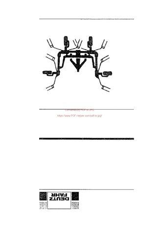Katalog części przetrząsacz DEUTZ FAHR KH 3.55