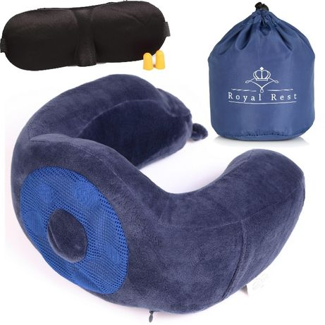 Автомобильная подушка, для командировок супер удобная. ПЕНА С ПАМЯТЬЮ