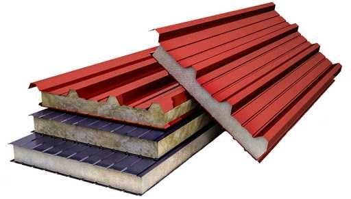 Сендвіч-панелі дахові та стінові